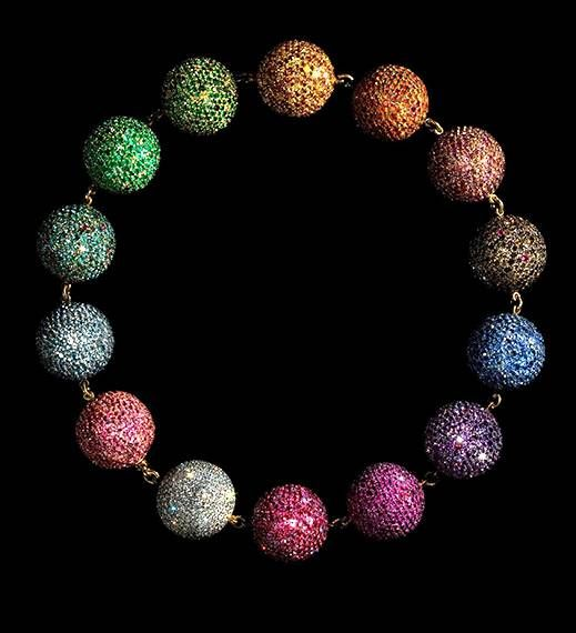 JAR Colored Balls Necklace 1999