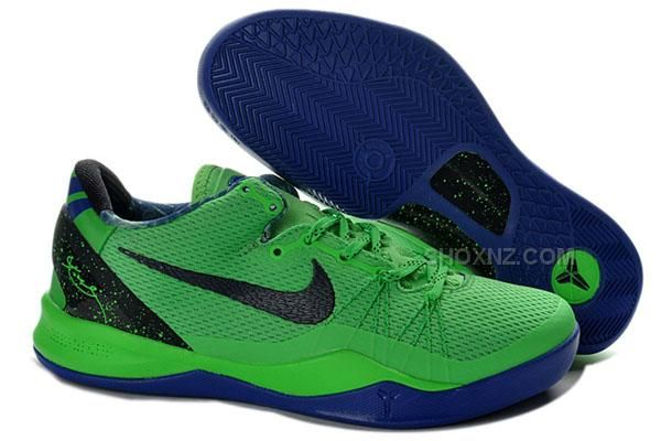 4f90375f168f ... Buy Nike Kobe 8 2013 Playoffs Green Blue Running Shoes from Reliable Nike  Kobe 8 2013 Kobe 8 VIII Fluorescent ...