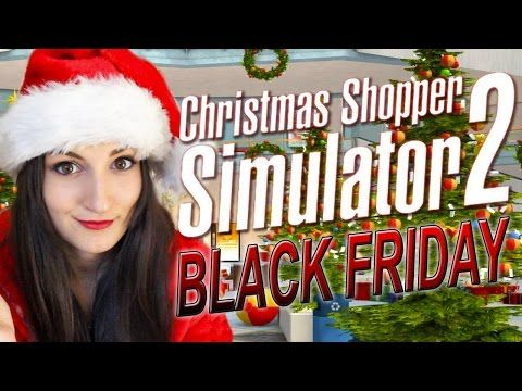 Christmas Shopping Simulator.Fart Powered Car Christmas Shopper Simulator 2 Black