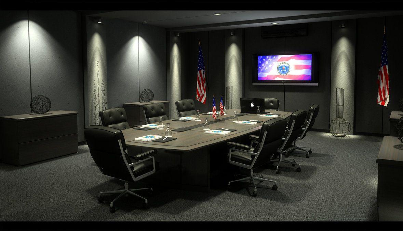Fbi meeting room by zigshot82 on deviantart bels p for Conference room lighting ideas
