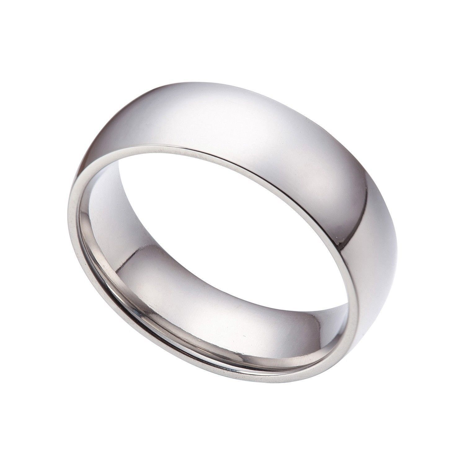 4mm his hers 925 sterling silver simple wedding engagement ring