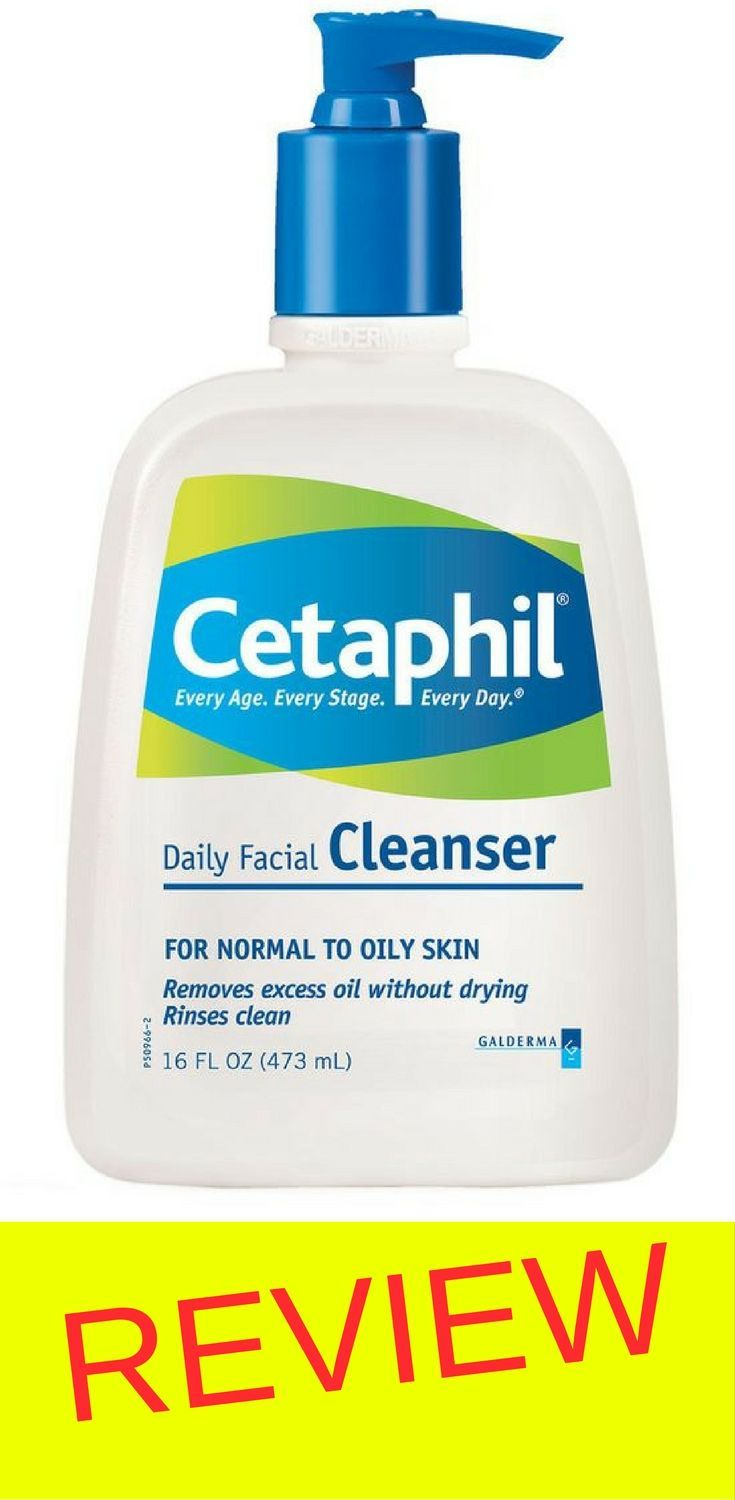 Cetaphil Gentle Cleanser Review Face Pinterest Oily Skin 125 Ml