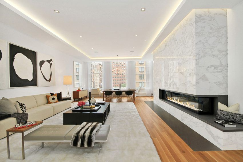A Contemporary Apartment In The Big Apple Contemporary Apartment