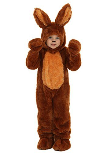 Boys Girls White Brown Easter Bunny Rabbit Animal Fancy Dress Costume Outfit