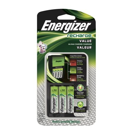 Energizer Recharge Value Charger For Nimh Rechargeable Aa And Aaa Batteries Walmart Com Aaa Battery Charger Rechargeable Battery Charger Nimh Battery