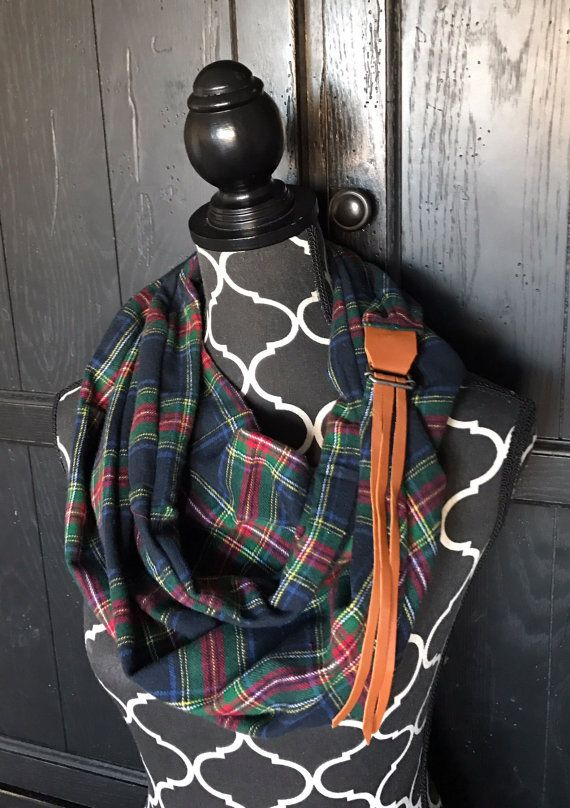 SALE-Navy Black Red Green Yellow and White Plaid by KutKloth