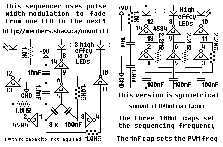 Strange Led Sequencer Circuit Electronics Circuit Electronics