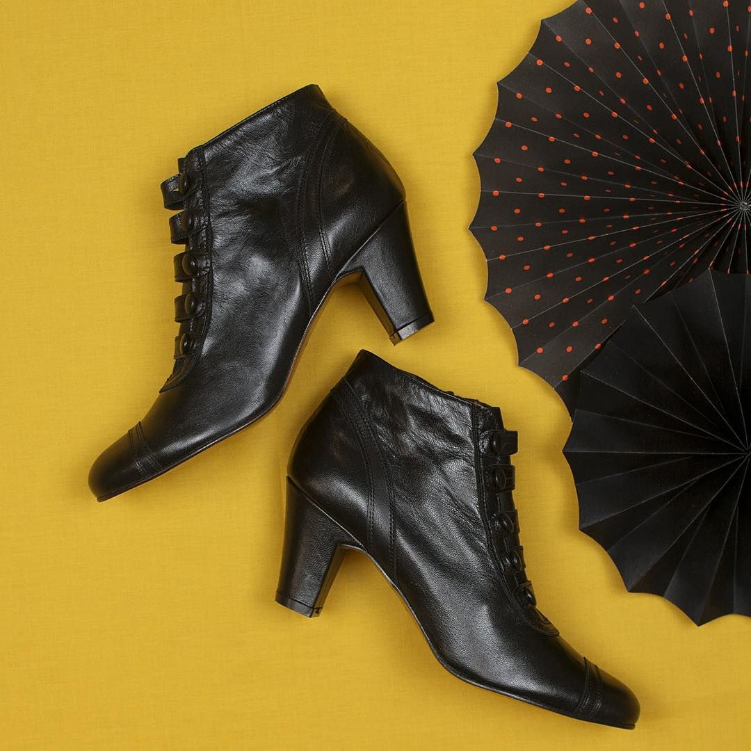 Put the right foot forward with the Cassie Bootie (sizes 6-10, $278) from Re-Mix!