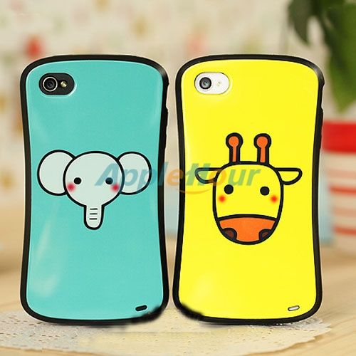 Hot Couple Pattern Cute Protective Case Cover for iPhone 4 4S  #Cases #Cover #iPhone