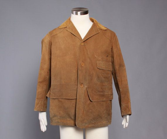 50s Men S Canvas Hunting Jacket 1950s By