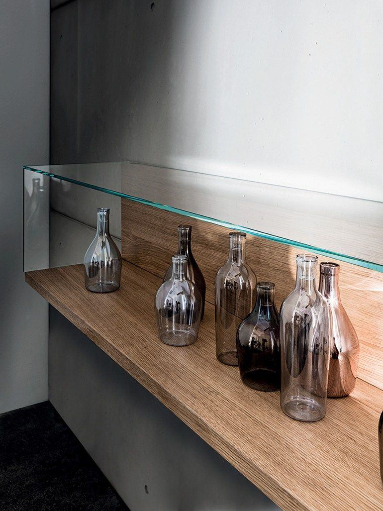 NEST WALL VERSION Wall-mounted retail display case by SOVET ITALIA