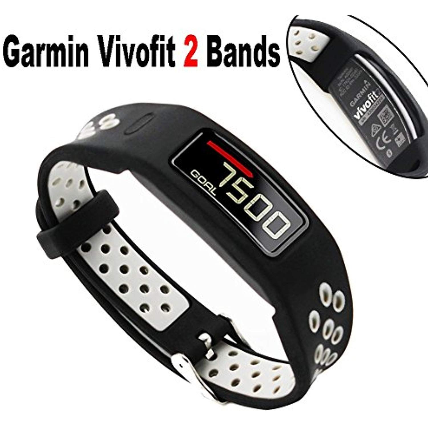 For Garmin Vivofit 2 Band Budesi Super Breathable Replacement
