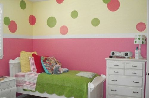 Lieblich Kinderzimmer Streichen Wandgestaltung Idee Design Tafel Bunt Kommode