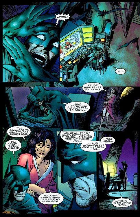 Bruce Wayne and Selina Kyle in JLA: Another nail   Batman ...