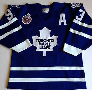 huge selection of 64ca6 8a88a Details about Vtg 90s Toronto Maple Leafs Mens Sz XL Pro ...