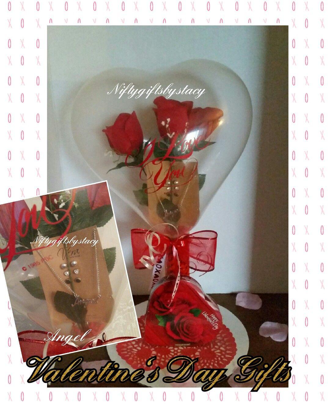 Created by Niftygiftsbystacy  #roseinaballoon #stuffedballoon #valentinesdaygift #balloongifts