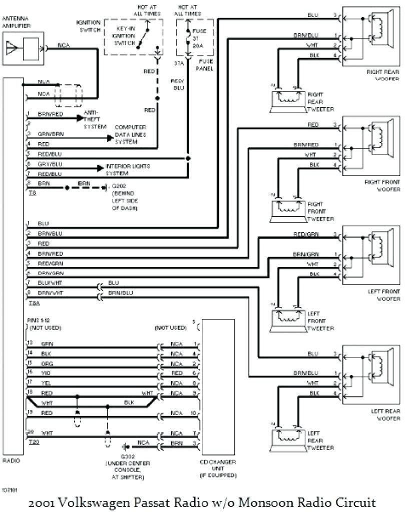 Vw Passat Radio Wiring Diagram Electrical Diagram Vw Passat Vw Jetta