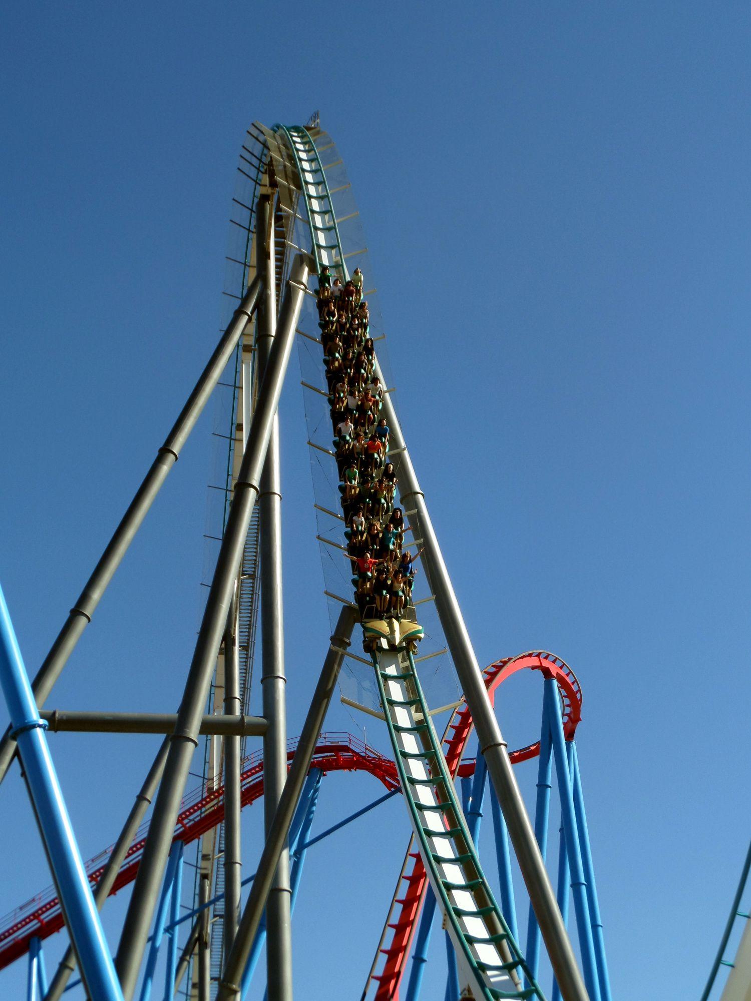 Shambala Port Aventura Spain 7 10 2013 Follow Us Www Themeparkguide Org Thrill Ride Roller Coaster Amusement Park
