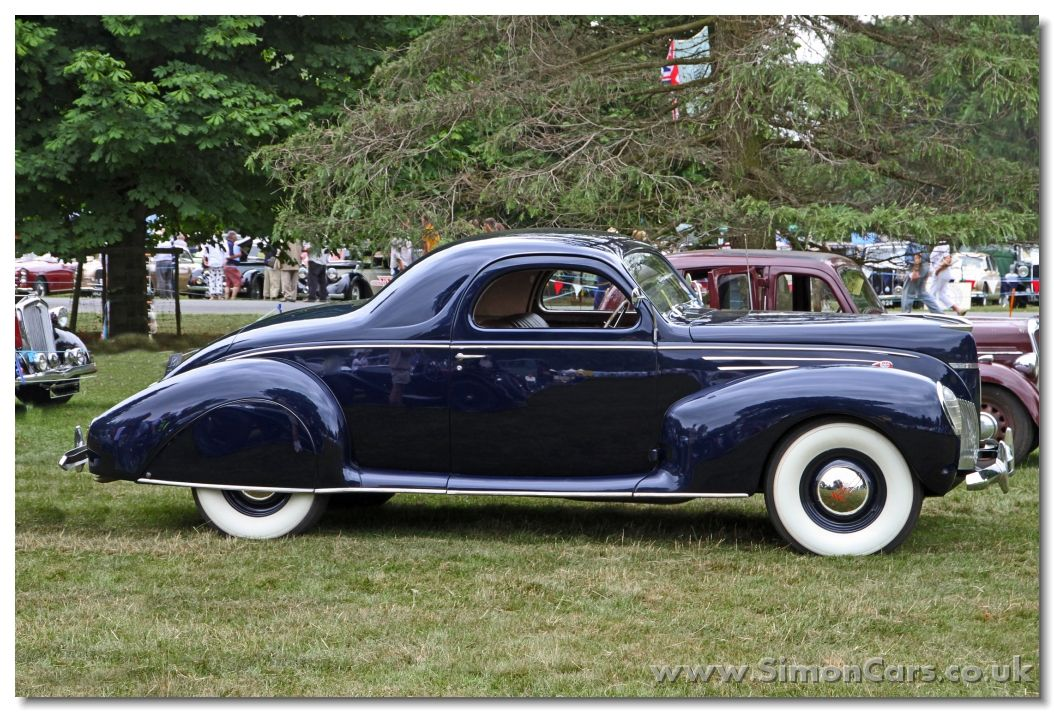 Lincoln Zephyr Coupe V12 1939 Wheels Wings Waves Lincoln