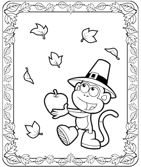 fall frame colouring pages - Google Search | Coloring: Autumn ...