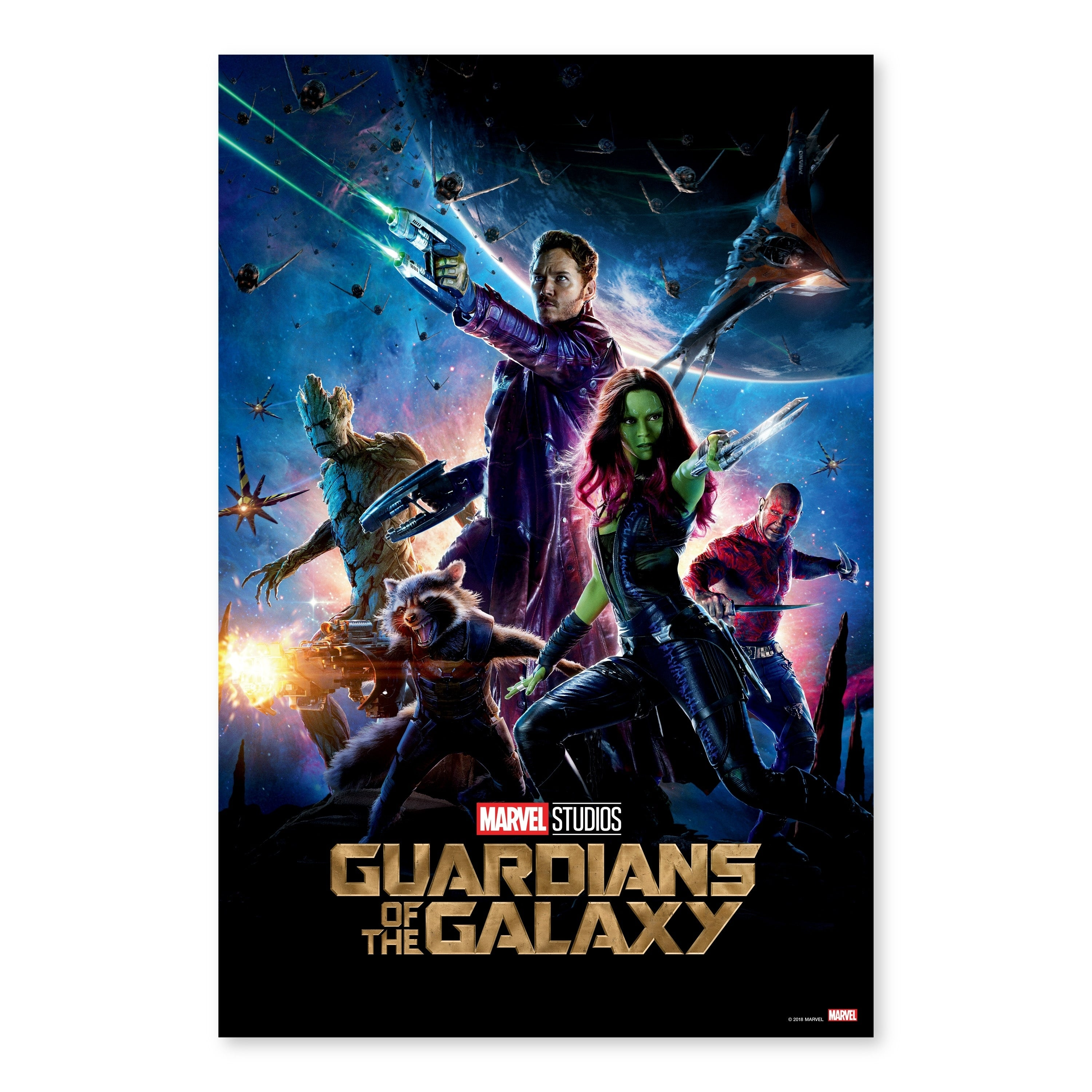 Guardians Of The Galaxy Hot Movie Art Canvas Poster Print 12x18 24x36 inch