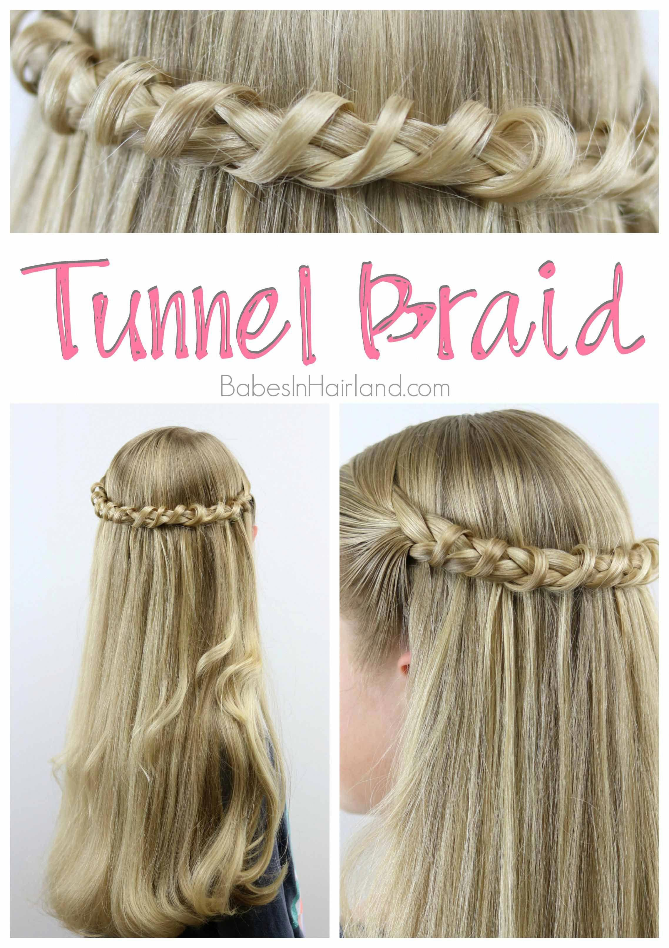 This Tunnel Braid Is Such A Unique But Easy Hairstyle From
