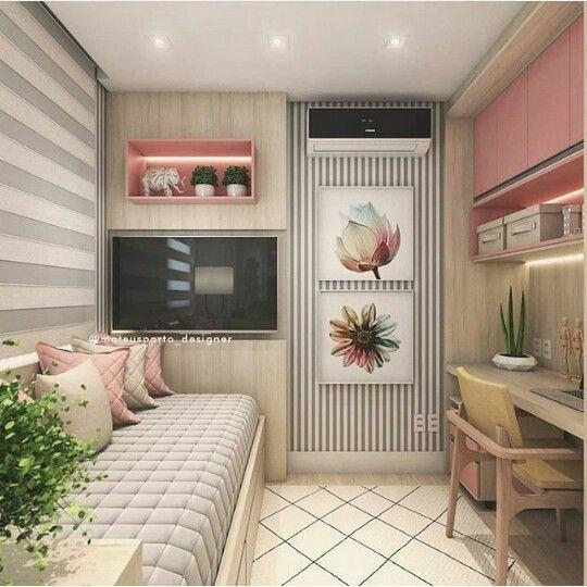 Peque o y juvenil dormitorios infantiles pinterest - Dormitorio pequeno juvenil ...