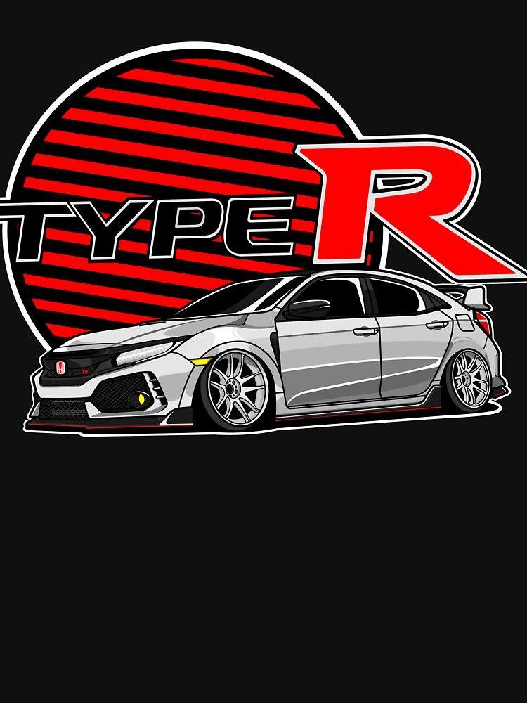 Honda Civic Type R Fk8 By Raisedingunma4 Honda Civic Type R Honda Civic Honda Sports Car