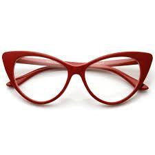 Image result for red eyeglass frames for women