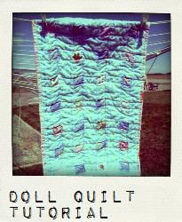 Pickup Some Creativity: Doll Crib Mattress and Sheet Tutorial