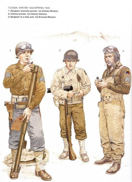 Image result for american army ww2 1942 | american army ...