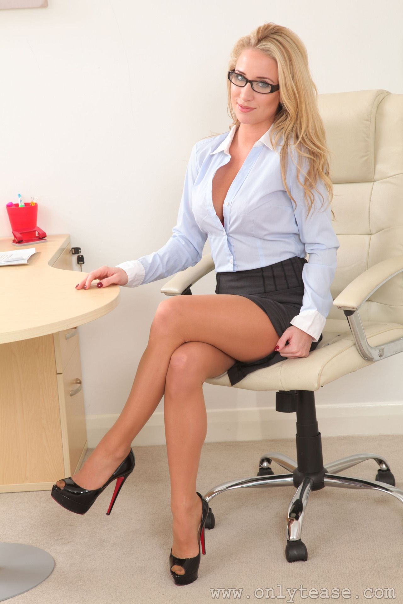 Office attire porn