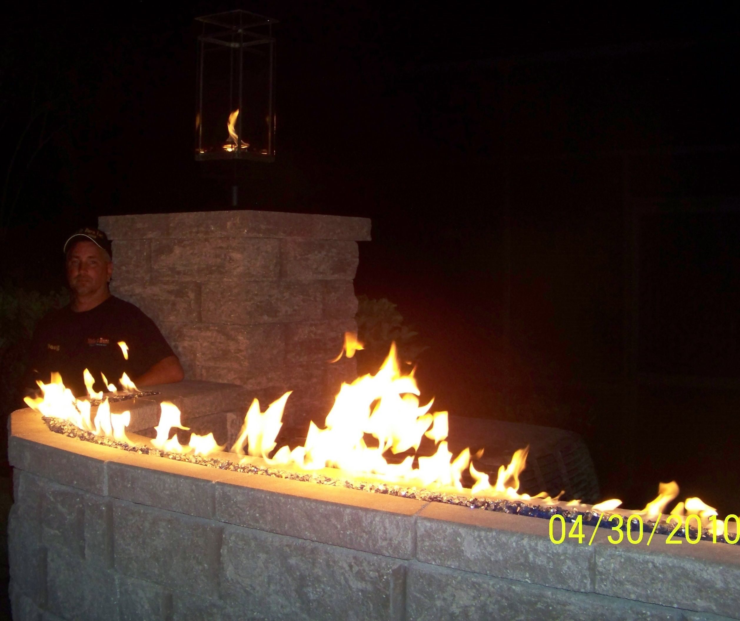 Fire Wall And Tornado Torch Gas Firepit Spa Heater Gas Fires