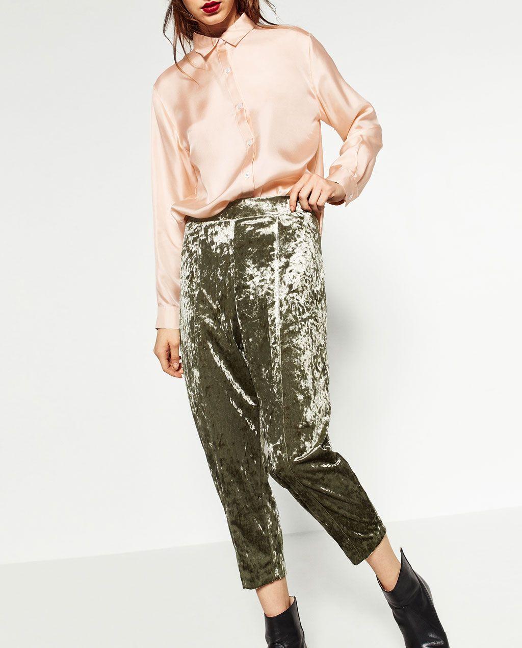 Pantalone Donna Carrot Zara Pantalone Pantalone Donna Carrot Zara Donna Carrot iTuwOkPZX