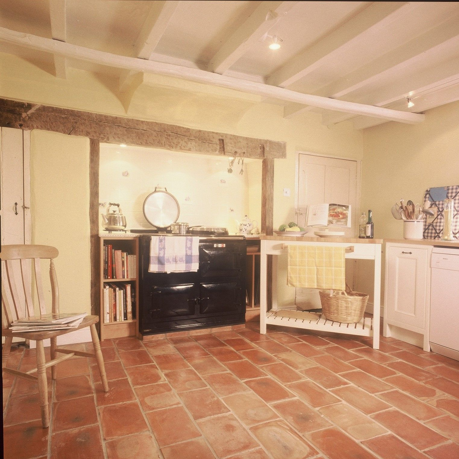 Handmade terracotta floor tiles gallery tile flooring design ideas kitchen with terracotta floor tiles choice image tile flooring a beautiful farmhouse kitchen finished with york dailygadgetfo Choice Image