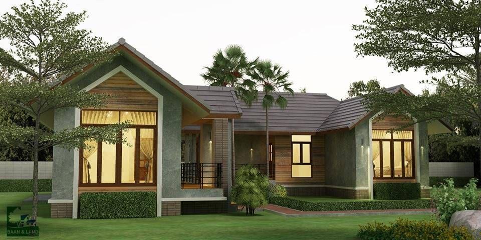 Compact But Sleek Three Bedroom Modern House Design Ulric Home House Design Modern House Design House Styles