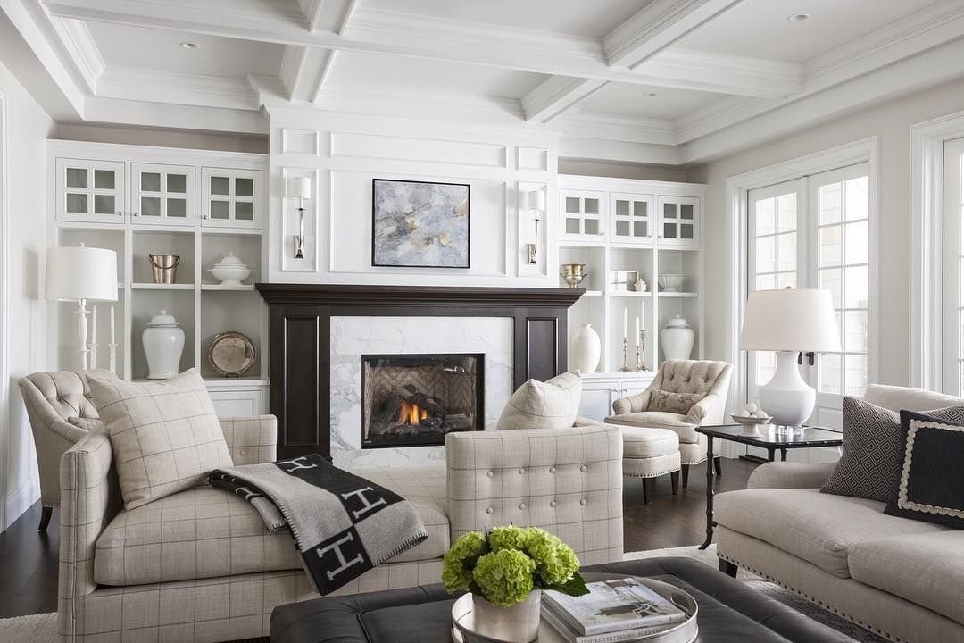 Stunning all-white interior done right by Marianne Simon