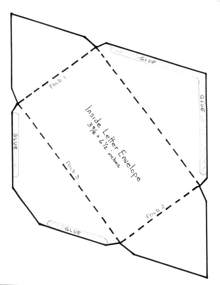 DIY Envelope Template from CreativePhotographyTricks Cards - sample a7 envelope template