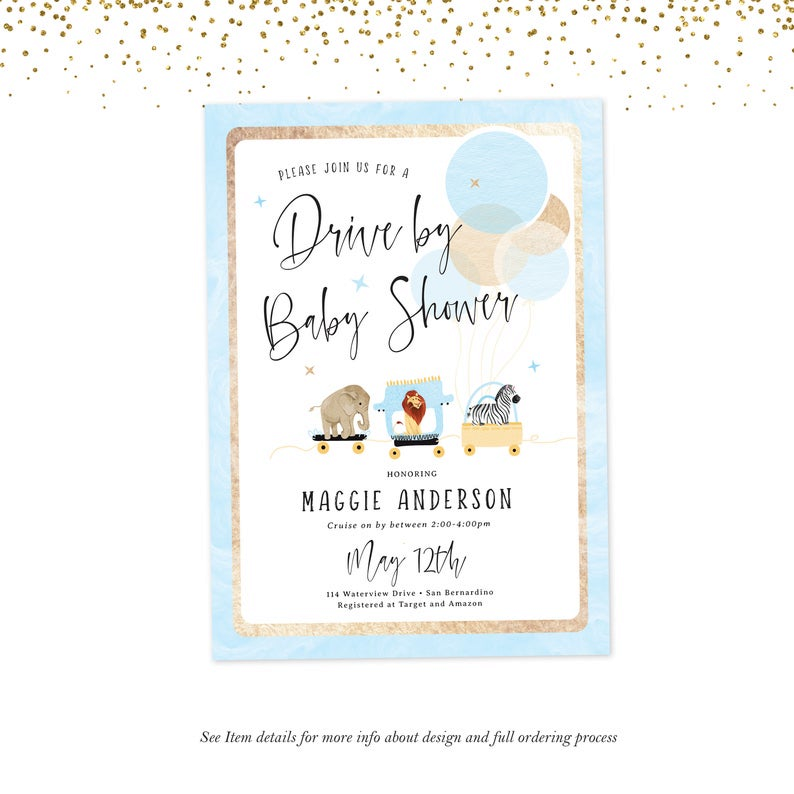 Pin On Baby Shower Invitations For Boys