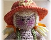 Dani Rae crochet doll PDF pattern