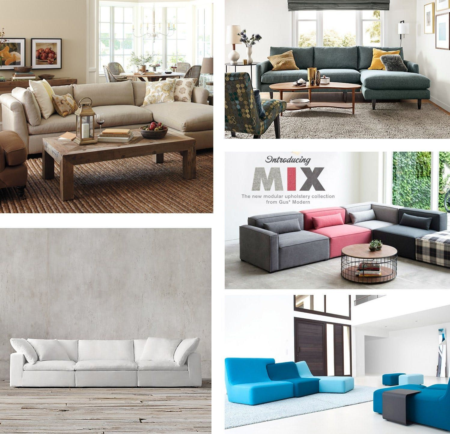Expandable Modular Best Sectional Sofas Annual Guide 2017