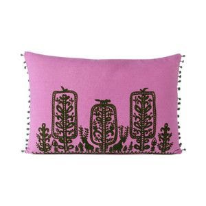 Embroidered Pillow Cover Violet, £34, now featured on Fab.
