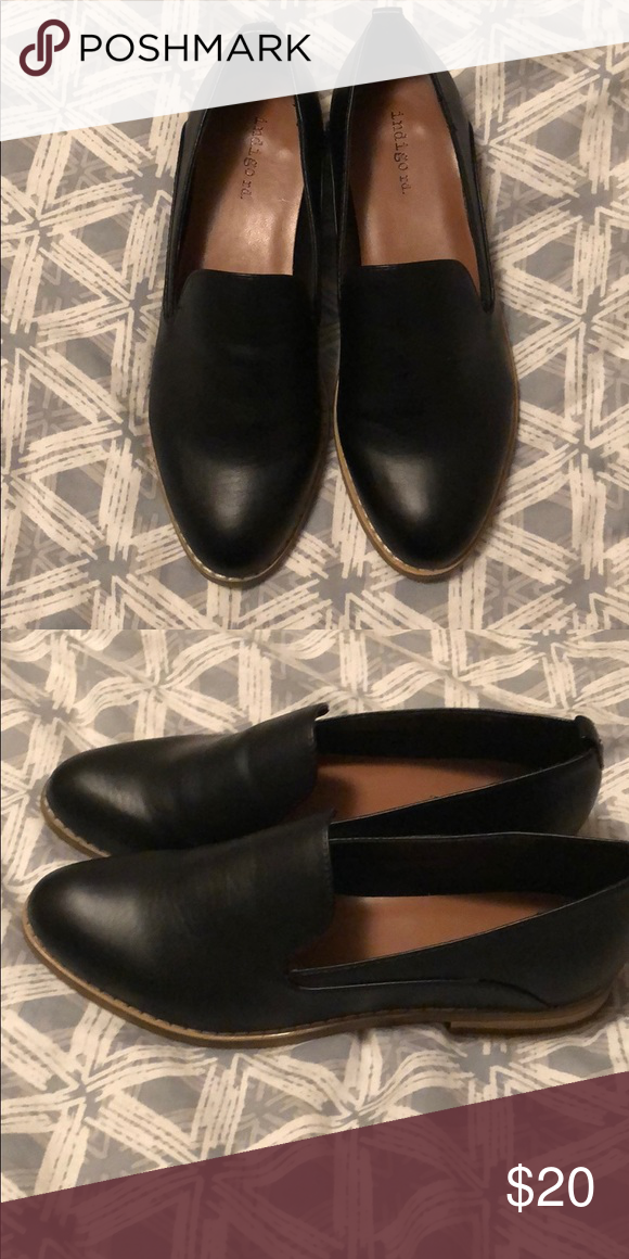 Black Leather Flats   Black leather flats, Black leather