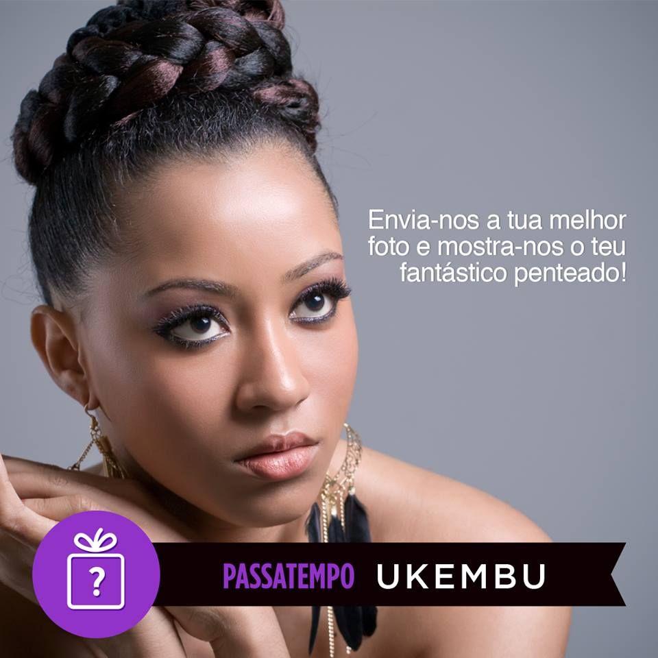 PASSATEMPO TERMINADO  A melhor foto ganha um postiço a levantar na loja.  Tens até dia 28 de Fevereiro para participar. Envia-nos a tua foto por mensagem privada para a nossa página de facebook. Boa sorte!   #ukembu #passatempo #penteado #magichair