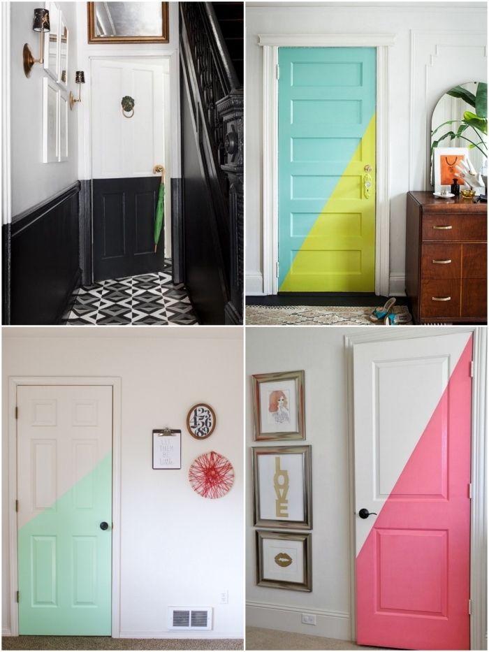 Porte Intérieure Originale ▷ 1001 + idées originales comment peindre une porte intérieure
