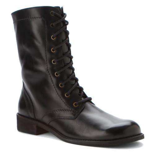 Women's Kateri 2 - Black Cashmere Leather