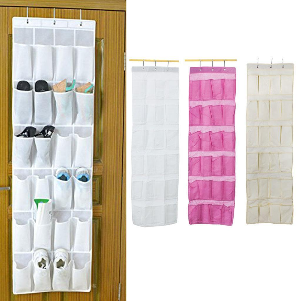 aud over door hanging shoe rack shelf storage organiser
