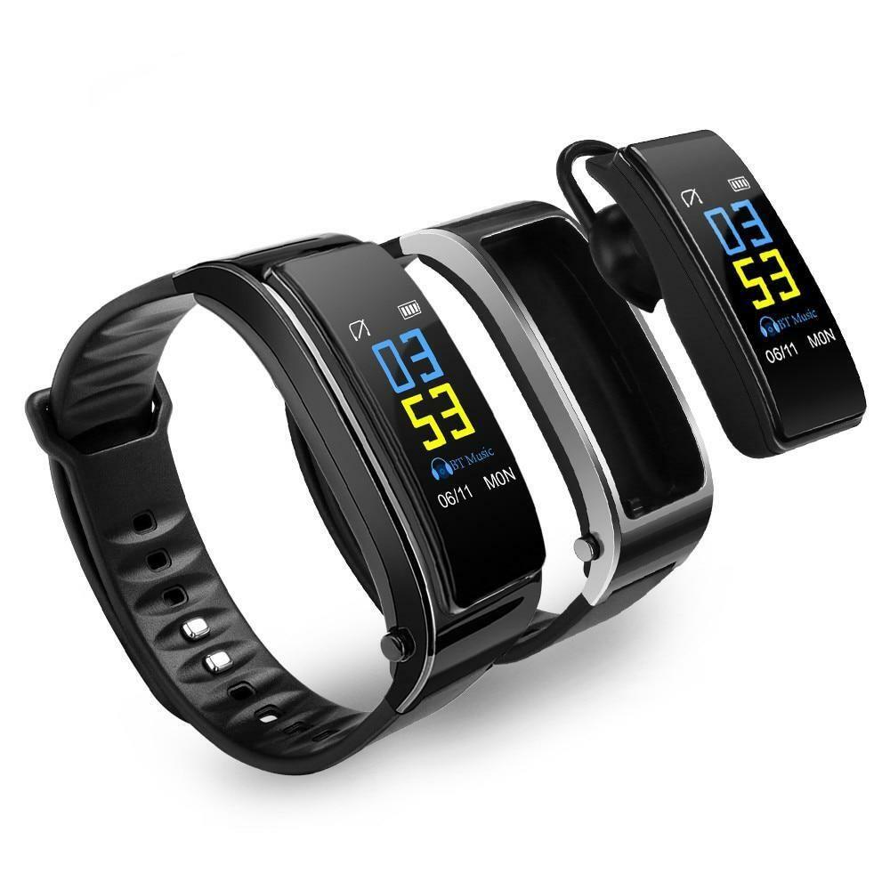 2-in-1 Smart Bracelet With Bluetooth Earphones. new hot