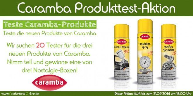 Caramba Produkttest-Aktion - Produkttest-Online