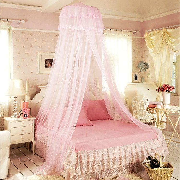 Bed canopy (With images) | Shabby chic bedrooms, Chic ...